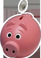 Glücksschwein / Spendenschwein
